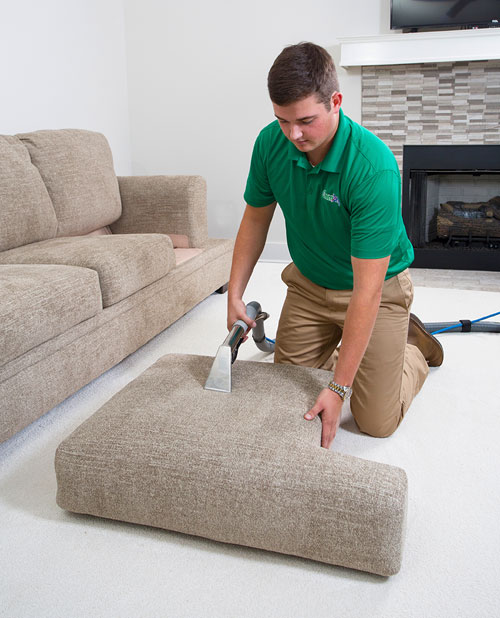Klein Chem-Dry professional upholstery cleaning