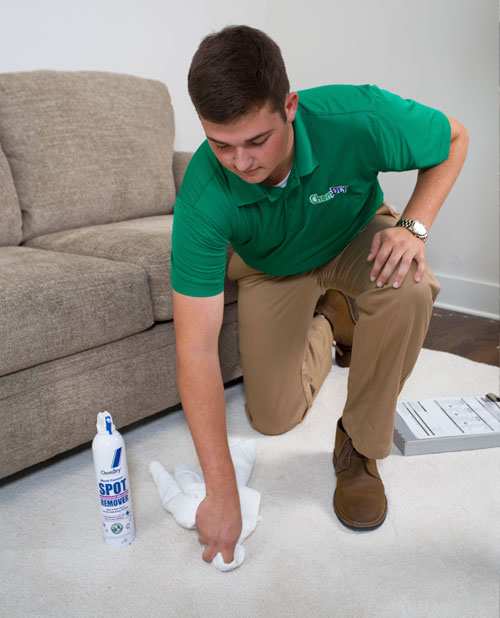 Our trained technicians have experience in removing soda, food, ink, makeup, blood, and wine stains from carpets.
